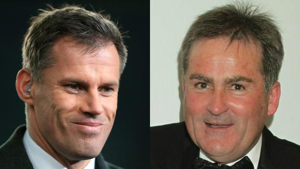 Carragher and Keys were exchanging unpleasantries on Twitter earlier this week