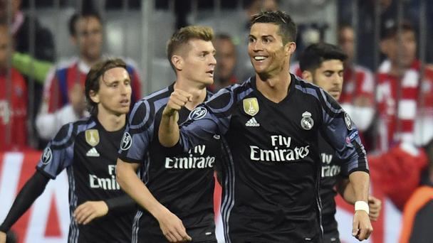 Real Madrid impress at the Allianz Arena