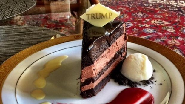 This Is What Donald Trump S Beautiful Chocolate Cake At Mar A Lago