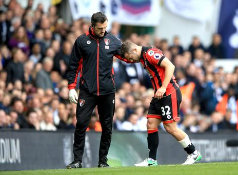 Jack Wilshere was taunted by Spurs fans as he hobbled off the field at White Hart Lane on Saturday