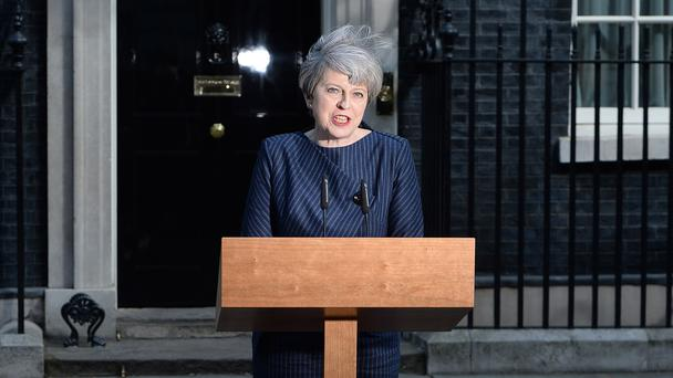 British Prime Minister Theresa May calls election for June 8
