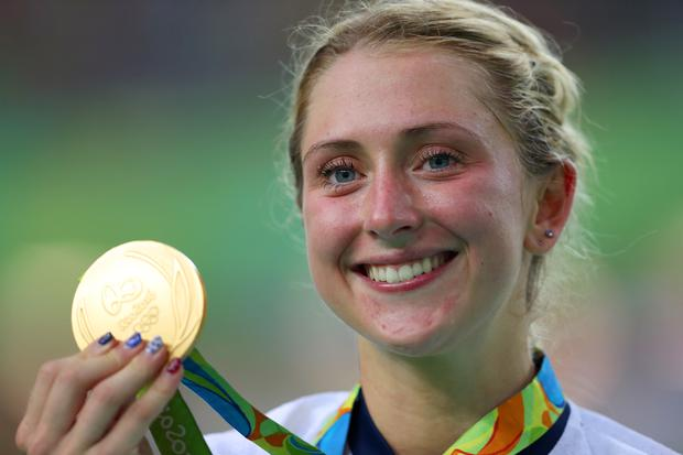 16/08/17 PA File Photo of Laura Trott at the Rio Olympics Games, Brazil. See PA Feature FAMILY Kenny. Picture credit should read: David Davies/PA Photos. WARNING: This picture must only be used to accompany PA Feature FAMILY Kenny
