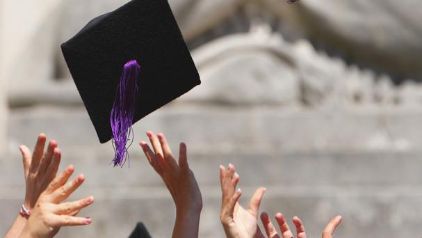 Loans of about €5,000 a year, which graduates would repay after their income hit certain levels, are among the options being considered as a means of boosting funding for third level. Stock Image