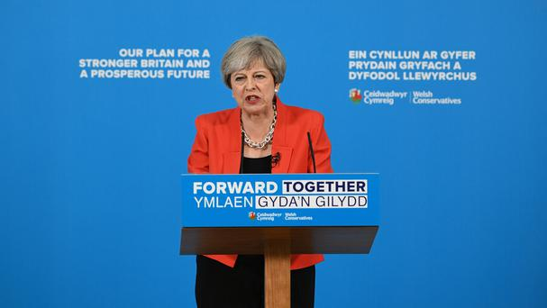 Theresa May says only poll that counts is on June 8
