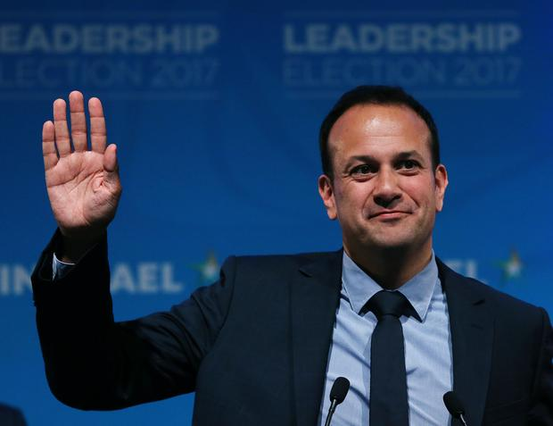 """The 'New York Times' headline read: """"Gay lawmaker, Leo Varadkar, is in line to be Ireland's Prime Minister."""" Picture: PA"""