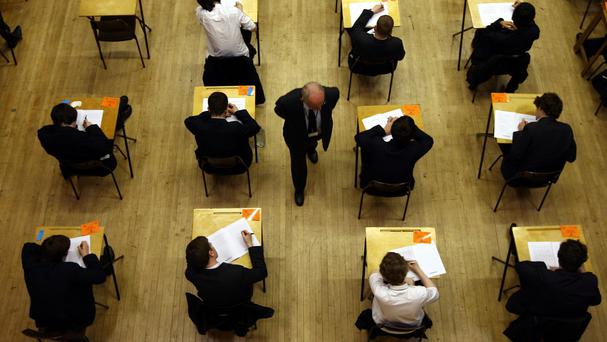The growth in enrolments is fuelling the demand for more second-level schools and, as the pupils come through to the Leaving Cert, will also add to pressure for college places. Stock photo: PA