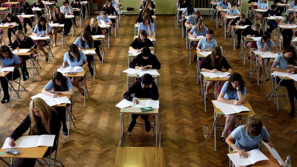 The Leaving Certificate has become a rite of passage for over 90pc of our young people, but also a high stakes and high pressure exam. Stock photo