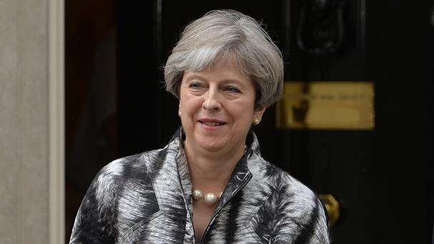 UK's May cracks joke about election disaster