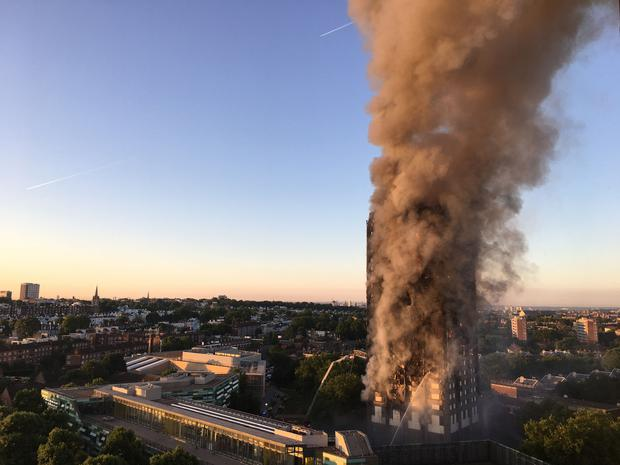 At least 30 residents of the tower block were killed in the tragedy with dozens still missing