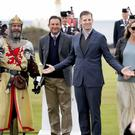 Eric Trump at Turnberry golf course (Jane Barlow/PA)