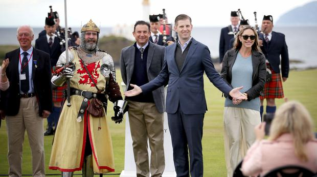 Eric Trump used a famous line of his father s at the opening of a ... a26c29e3b022