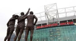 General view of Old Trafford