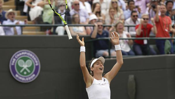 Konta has emulated Jo Durie's feat 33 years ago (Tim Ireland/AP)