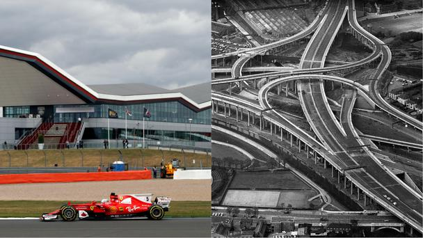 Silverstone and Spaghetti Junction (Frank Augstein/AP, PA)