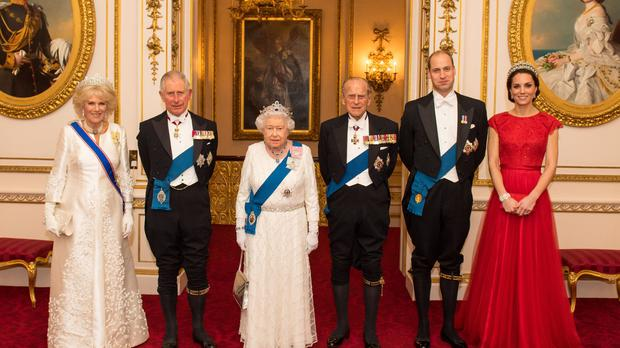 The royals have been racking up the hours (Dominic Lipinski/PA)