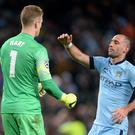 Joe Hart and Pablo Zabaleta are now both at West Ham (Martin Rickett/PA)