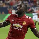 Manchester United's Romelu Lukaku scored for his new team (David J Phillip/AP)