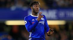 Chelsea's Michy Batshuayi during the match. (John Walton/EMPICS)