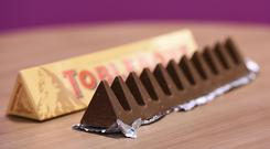 Toblerone bars have been getting smaller (Charlotte Ball/PA)