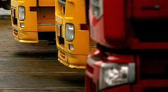 Around 2,000 hauliers in Ireland either export directly into the UK, or use the UK as a route to get to the Continent, the Irish Road Haulage Association (IRHA) said