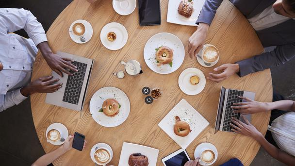 Coffee, avocado, conversation… what else have millennials ruined? (monkeybusinessimages/Getty/PA)
