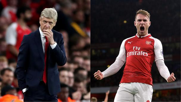 Arsenal won but not before Leicester gave them a fright (Nick Potts/PA and Joe Giddens/EMPICS Sport)