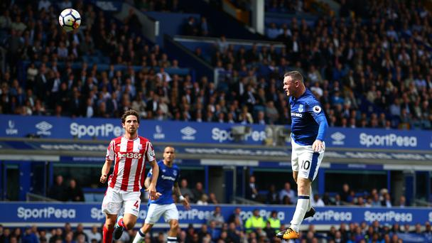 Wayne Rooney scores for Everton (Dave Thompson/EMPICS Sport)