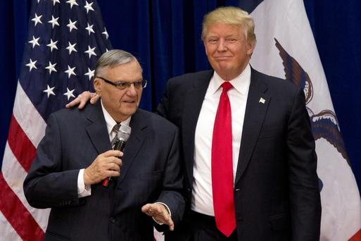 Sheriff Joe Arpaio is shocked to learn he isn't above the law