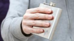 Hip flask (Eugene Sergeev/Getty Images)