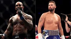 Jimi Manuwa and Tony Bellew