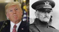 Trump and Pershing