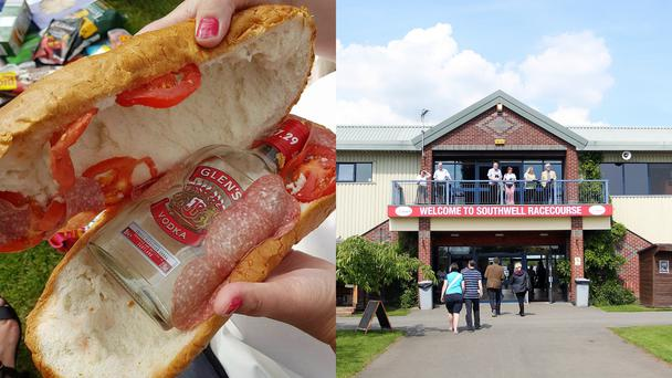 A sandwich with vodka in it (Southwell Racecourse and Simon Cooper/PA)