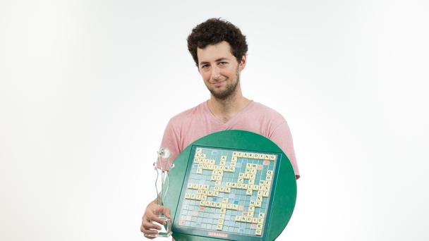 2017 Scrabble champion David Eldar