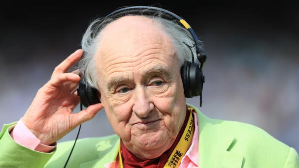 Former Test Match Special commentator Henry Blofeld