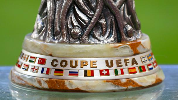 The base of the Europa League trophy