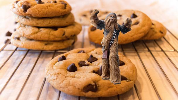 Now get ready for... wookie on a cookie (Niall Carson/PA/rbellesen/Getty)