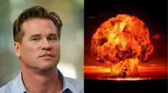 Val Kilmer and an illustration of a possible apocalypse situation