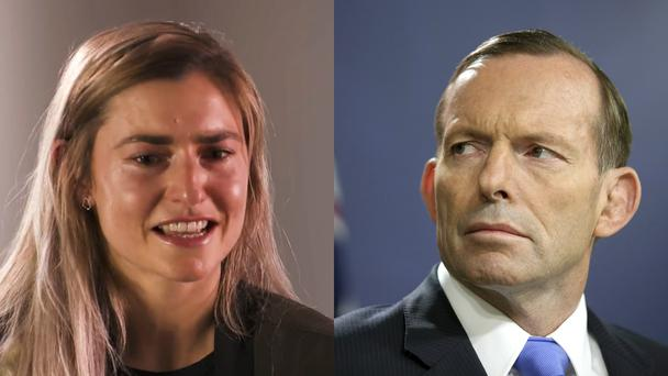 Frances and Tony Abbott