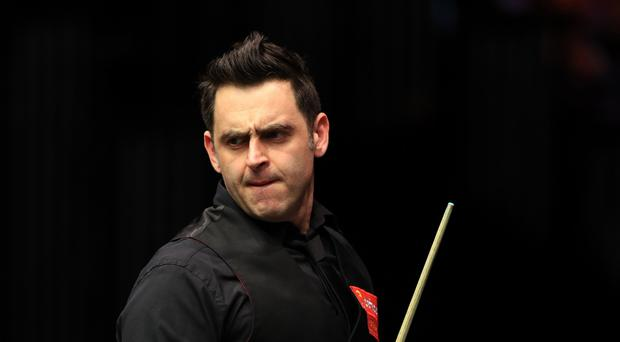 Ronnie O'Sullivan claims he is focused on his game with the World Championships looming on the horizon