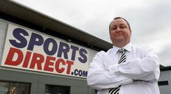 Sports Direct founder and Newcastle United owner Mike Ashley
