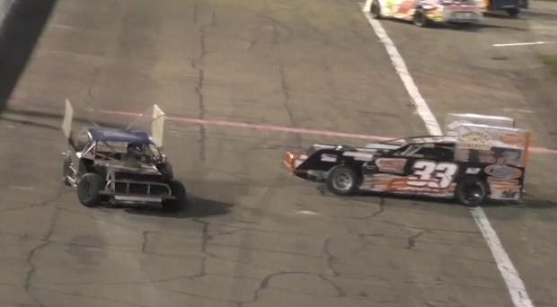 Shocking footage: Race car crash leads to fight and arrests