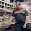 A man punching a burger (Burger King/PA)