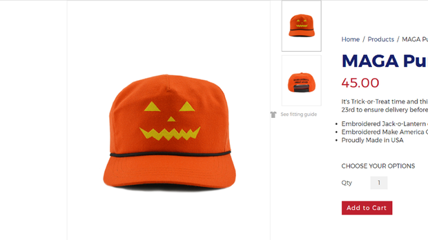 d4e5b6968d5 Trump supporters can get into the Halloween spirit with the latest ...