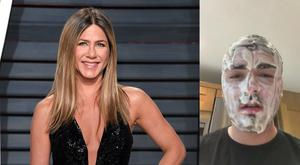 Jennifer Aniston's latest beauty ad inspired Christian Tierney to do whatever she says (Christian Tierney/PA)