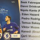 Qarabag's matchday programme for their Champions League game against Chelsea