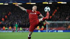 Liverpool v NK Maribor – UEFA Champions League – Group E – Anfield