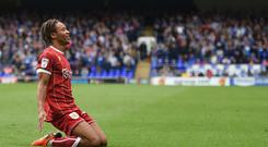 Bobby Reid and Bristol City have been Twitter stars