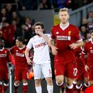 Liverpool score against Spartak Moscow in the Champions League - (Martin Rickett/EMPICS Sport)