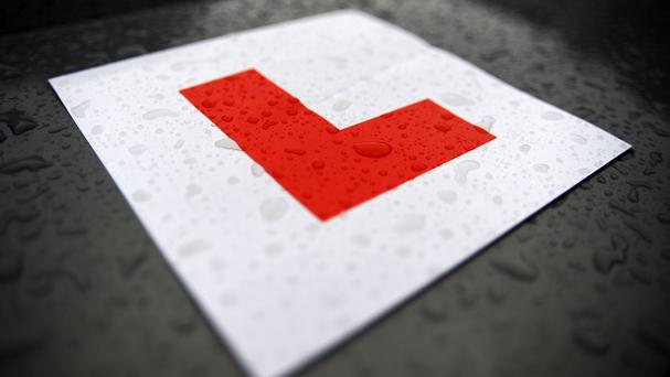 I must be the only man who sat his driving test with the ghost of his late father in the car with him. (Stock picture)