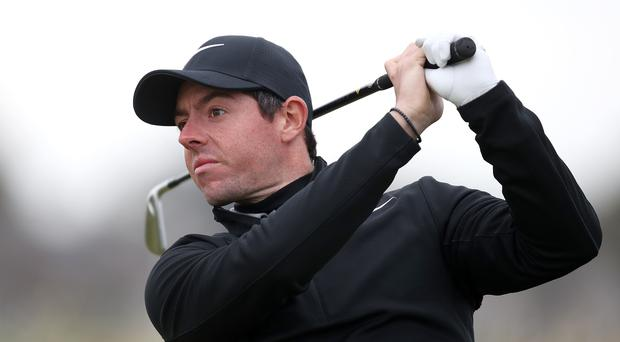 Northern Ireland's Rory McIlroy